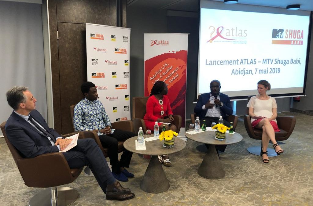 Launch of ATLAS and MTV Shuga projects in Côte d'Ivoire