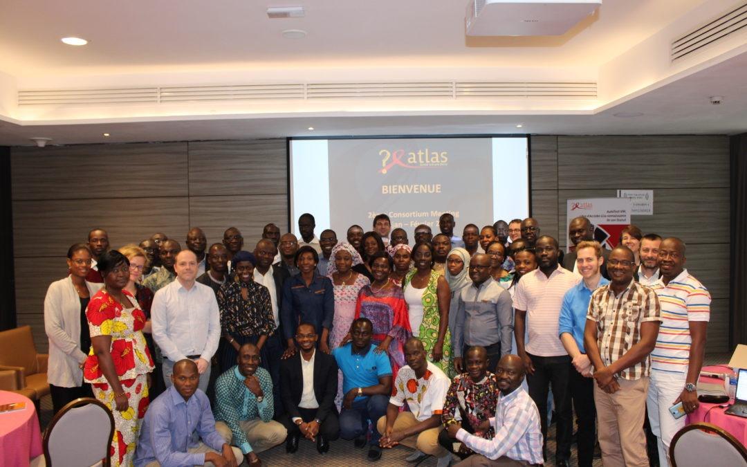 Second consortium meeting of the ATLAS Project in Abidjan