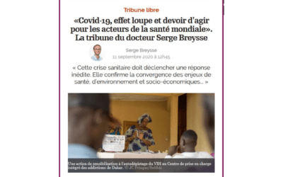 """Covid-19, glass effect and duty to act for the actors of global health""."
